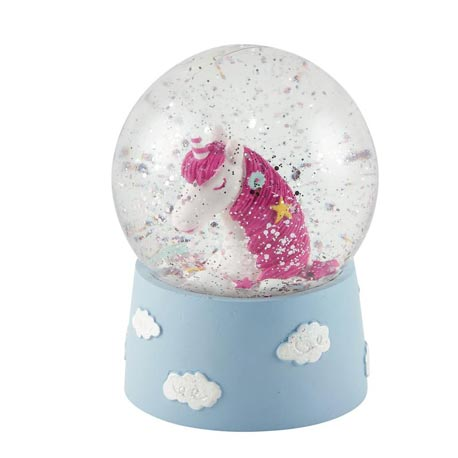 Mini Unicorn Snow Globe