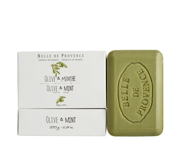 Olive Mint 200g Bar Soap - Belle De Provence