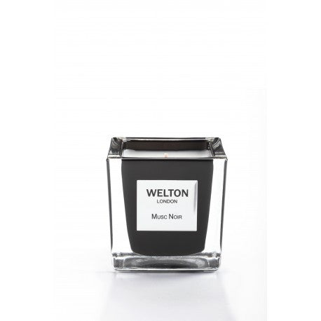 Welton London Scented Candle Musc Noir