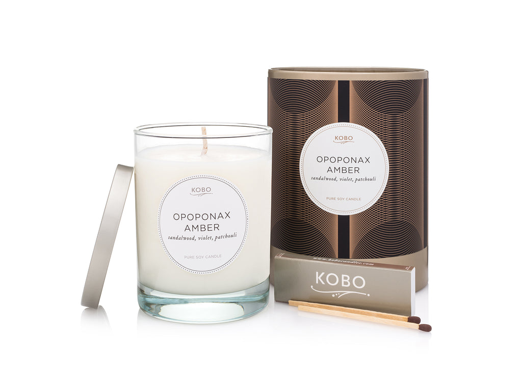 Kobo - Opoponax Amber Scented Candle