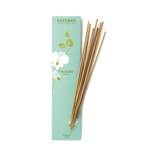 White Orchid Bamboo Incense - Belle De Provence