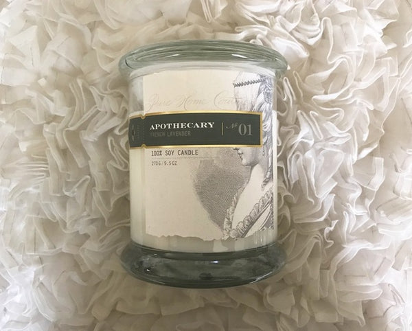Pure Home Couture - Apothecary Scented Candles - Belle De Provence