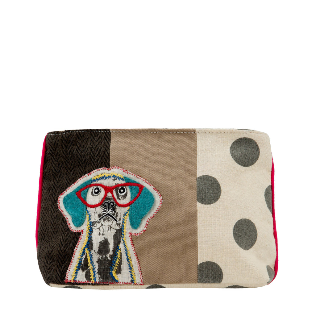 Wise Dog Clutch Cosmetic Bag - Belle De Provence