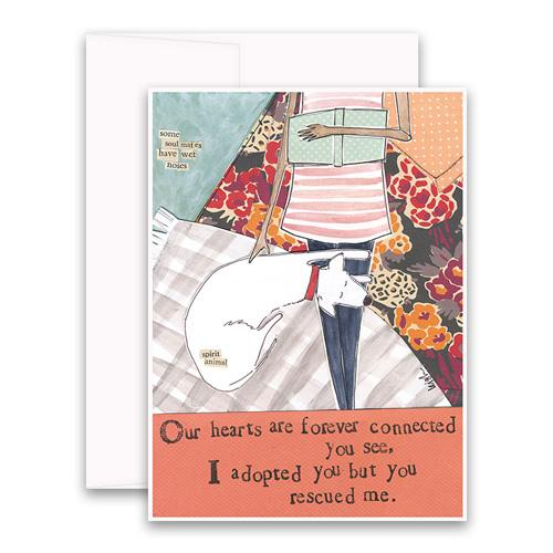 You Rescued Me Greeting Card - Belle De Provence