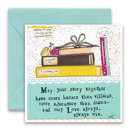 Your Story Greeting Card - Belle De Provence