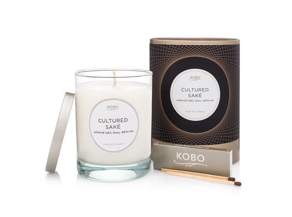 Cultured Saké Scented Candle
