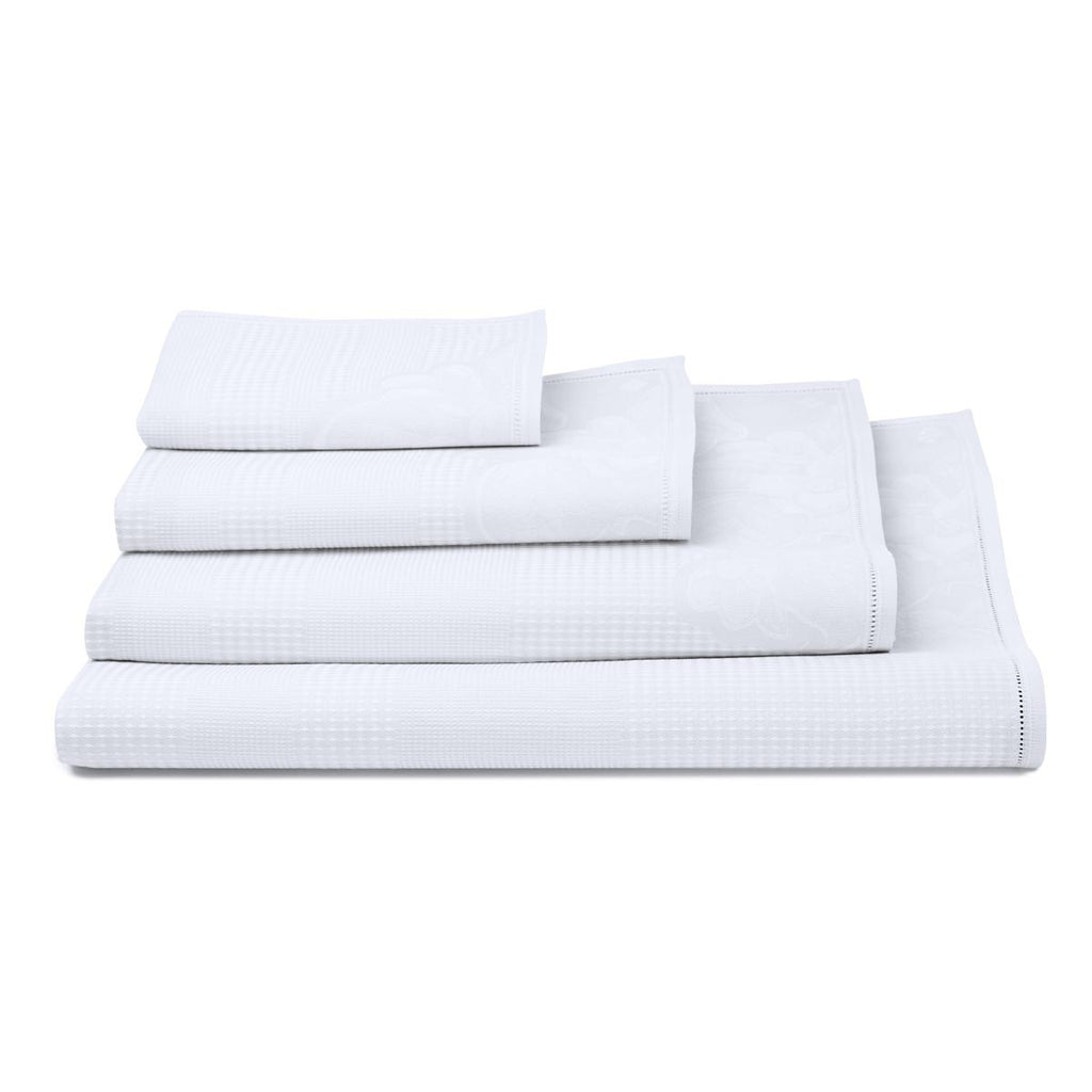 Volupte White Towel - Belle De Provence