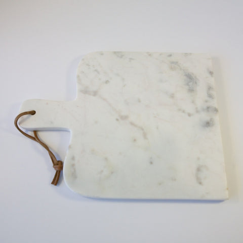 Caravan Marble Small Paddle Cheese Board White 11