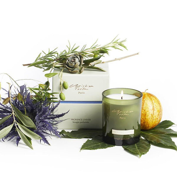 Provence L'Hiver Scented Candle - Belle De Provence