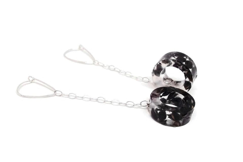 Black Sorghum Drop Earrings