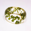 Resin Bracelet with Maidenhair Fern
