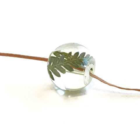 Fern Bead Necklace