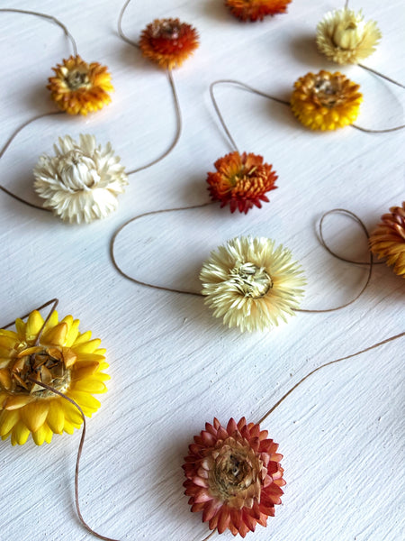 DIY Strawflower Garland Kit