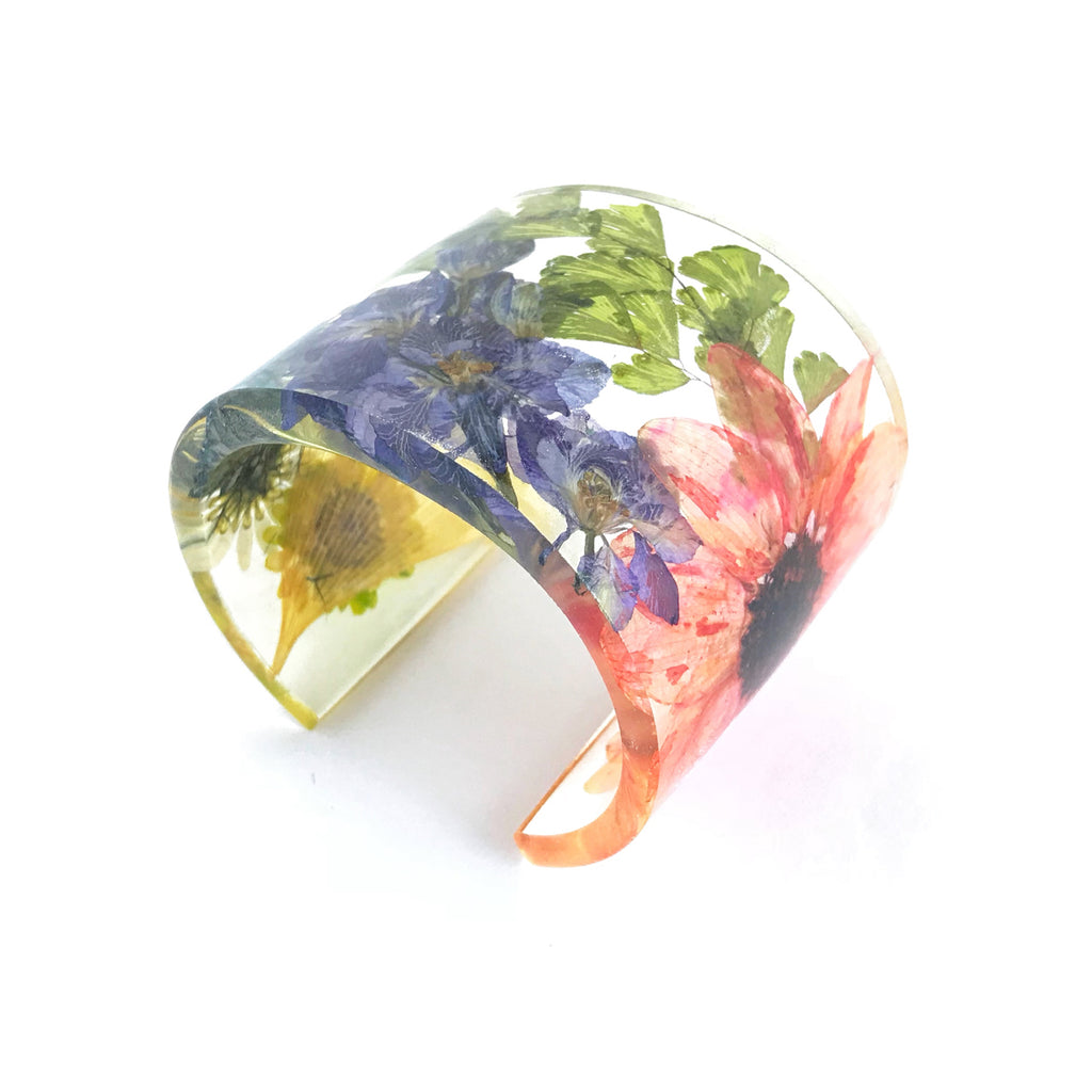 Eco Resin Cuff with Everything