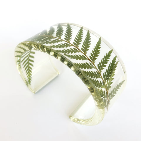 Fern Eco Resin Cuff