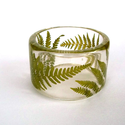 Ferns Resin Bracelet