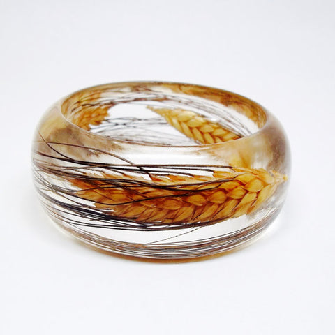 Resin Bracelet with Blackbeard Wheat