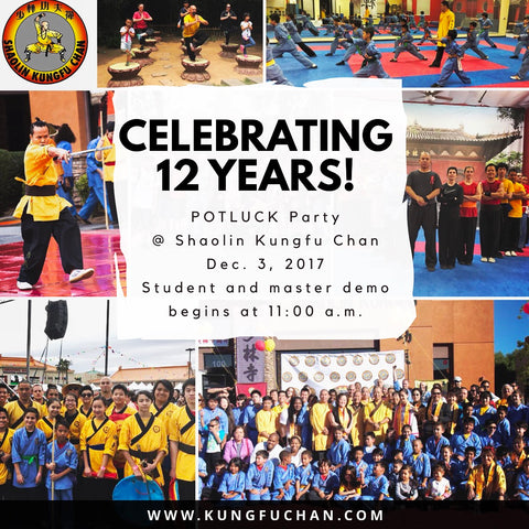 Shaolin Kungfu Chan 2017 Anniversary Party Las Vegas Martial Arts School