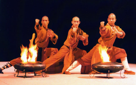 Shaolin Monks perform kung fu for the world
