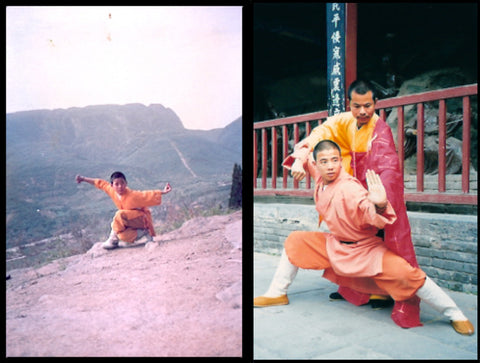 Shi Xing Wei and Shi De Yang Shaolin Temple, China