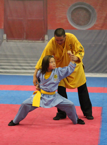 Private martial arts classes in Las Vegas, NV for children at Shaolin Kungfu Chan.
