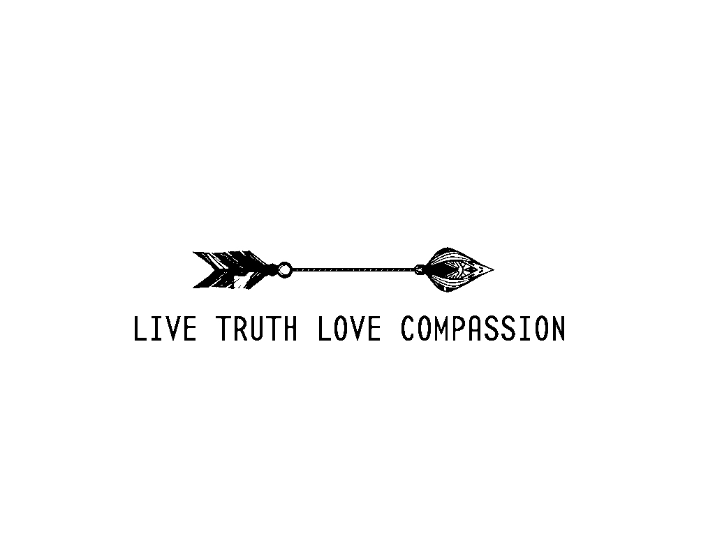 Live Truth Love Compassion Apparel logo