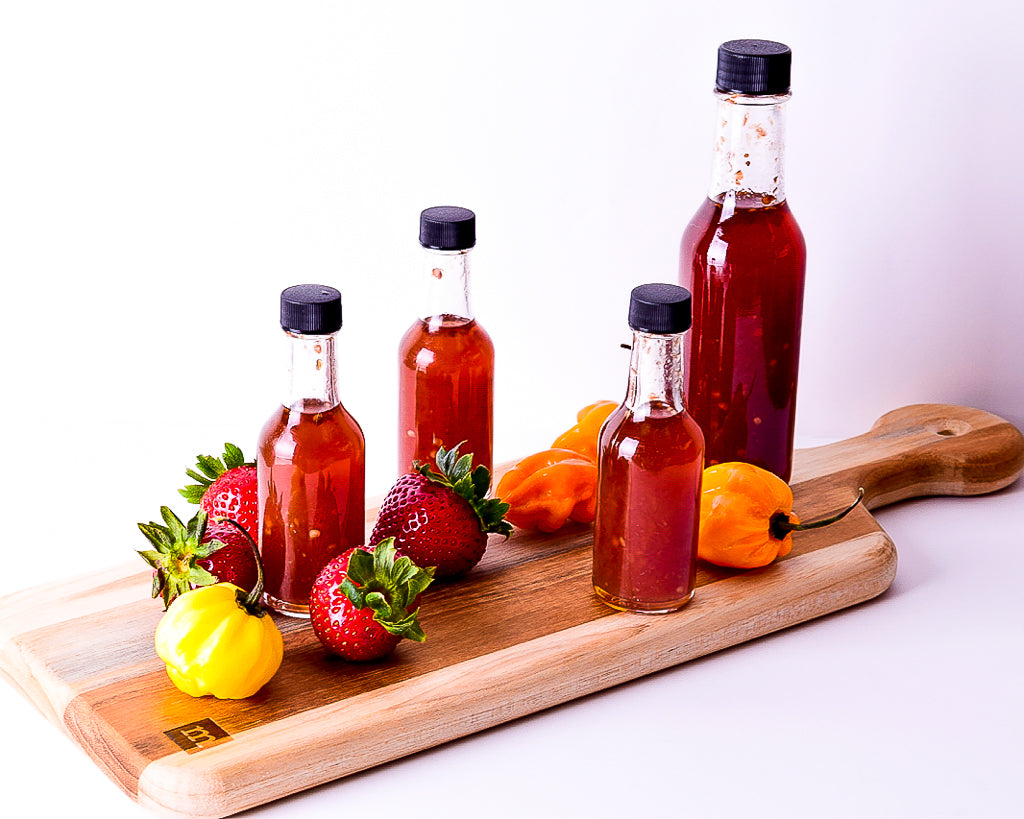Mini Strawberry Inferno Hot Sauce