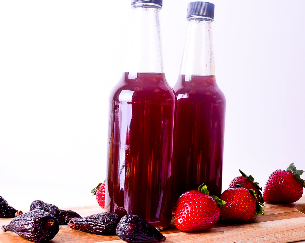 Mini Fig'N'Berry Simple Syrup