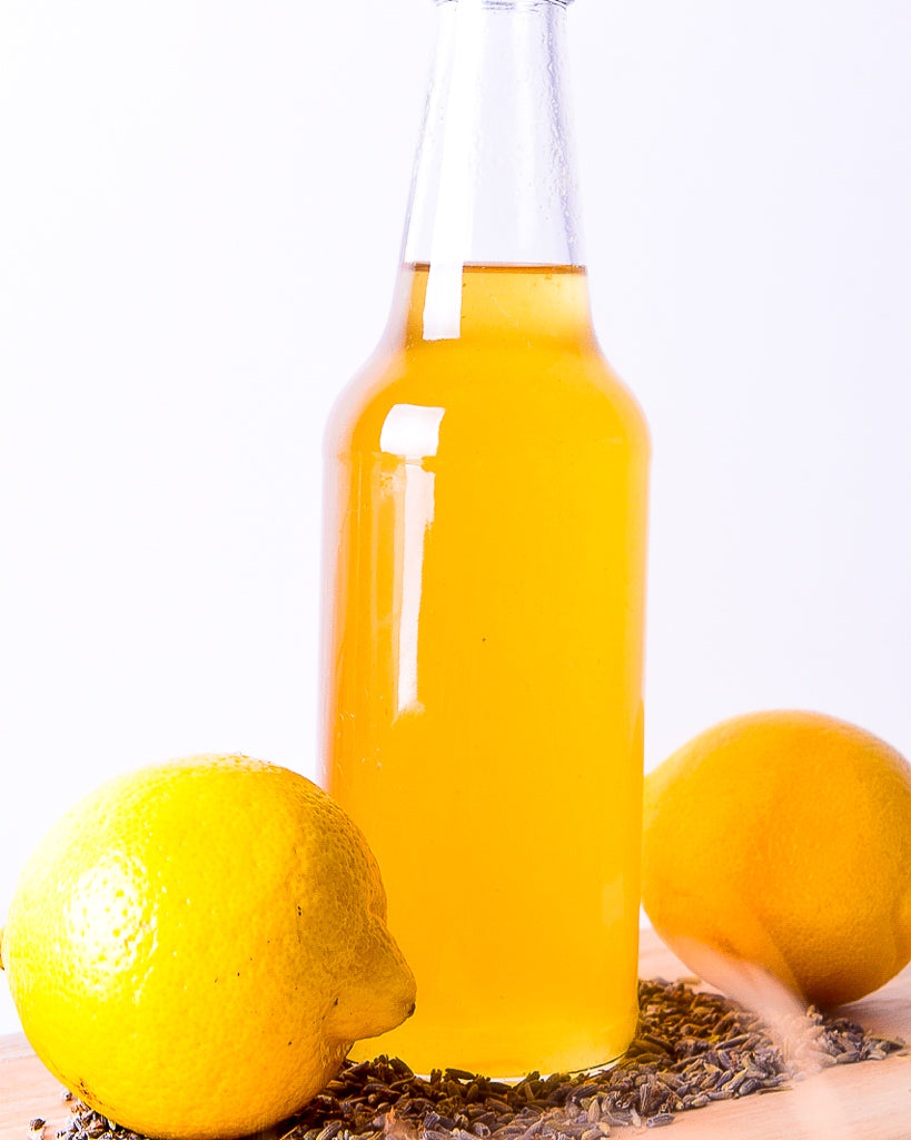 Mini Lemon Lavender Simple Syrup