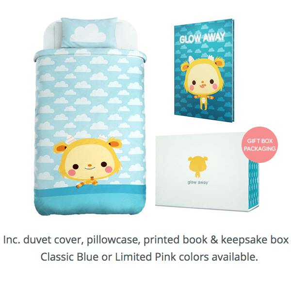 Glow Away Duvet Cover full set