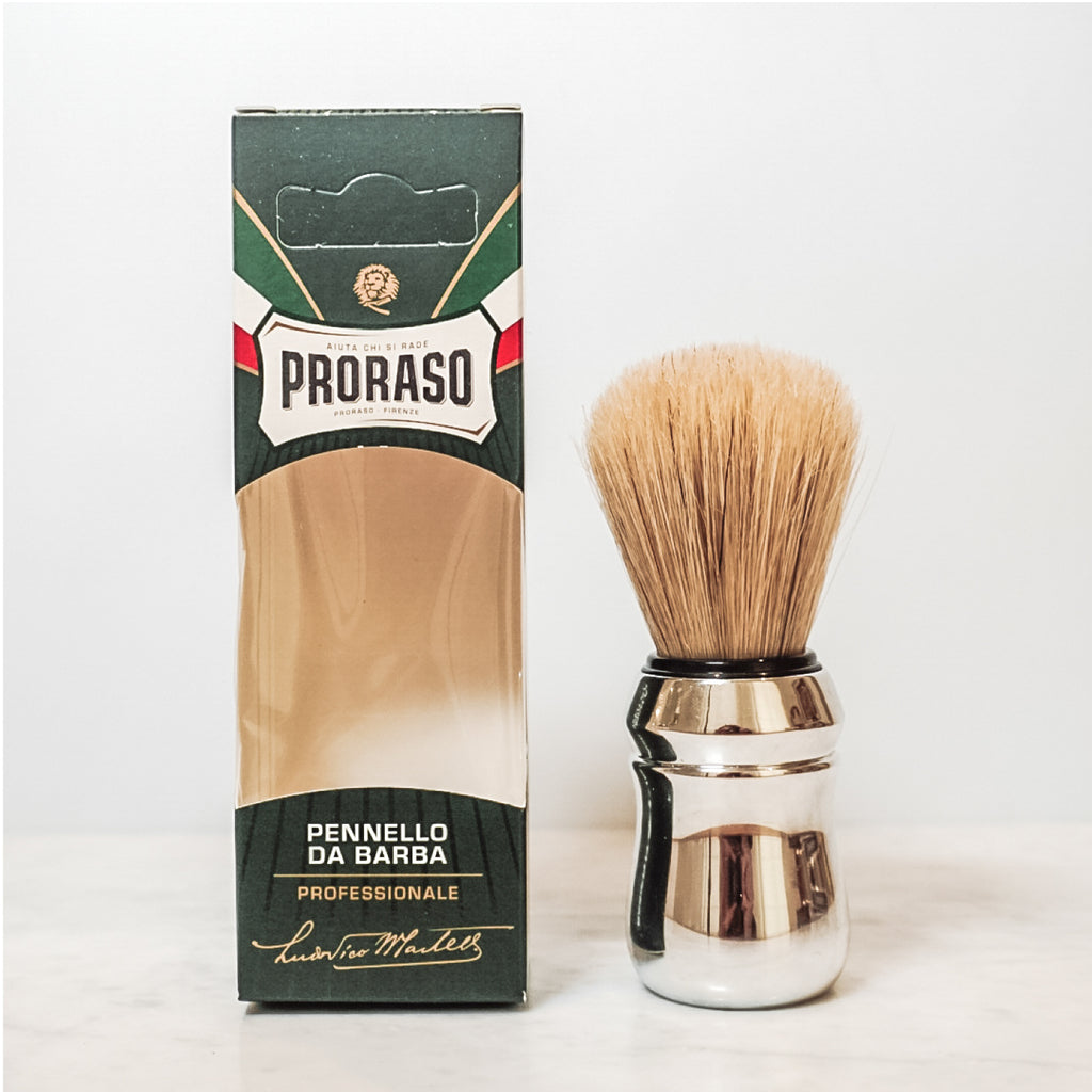 Proraso Mini Travel Proraso Shaving Kit Italian Men's skincare beard care beards shaving