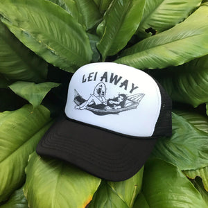 """Lei Away Plan"" Trucker"