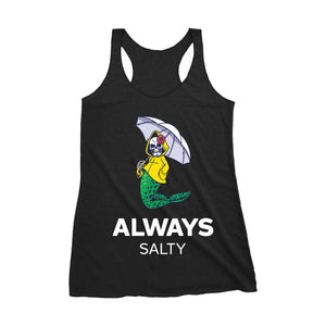 """More Salt"" Racerback Tank"