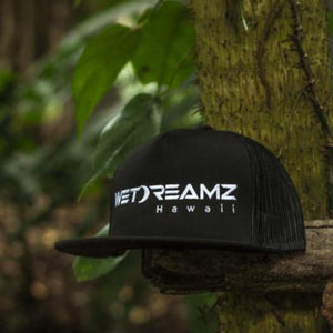 Wet Dreamz Hawaii Trucker - Black/White