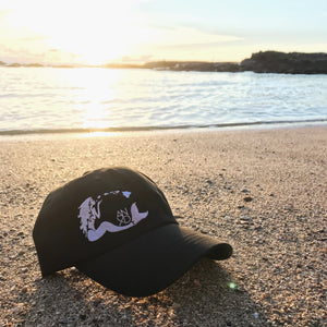 Mermaid Dad Hat - Black