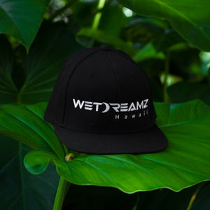 Wet Dreamz Hawaii Snapback - Black/White