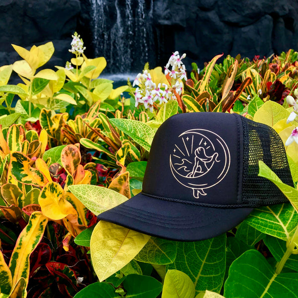 Mahina Mermaid Trucker - Black