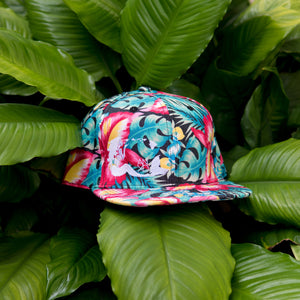 Ginger Denim Mermaid Snapback
