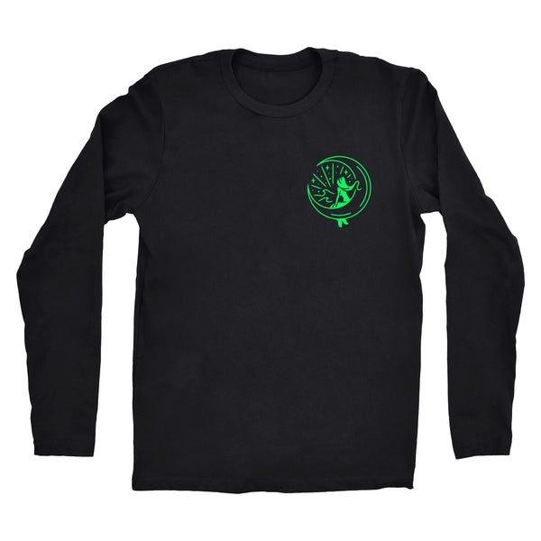 "Long Sleeve Green ""Mahina Mermaid"" Tee"
