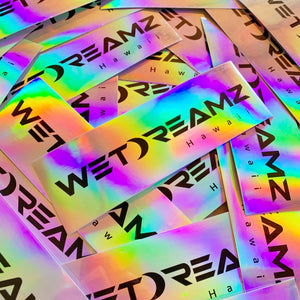 Holographic WD Logo Sticker