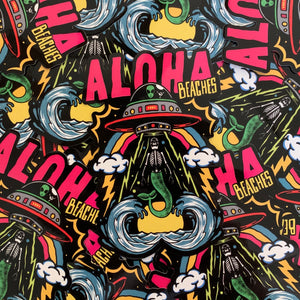 """Aloha Beaches"" Sticker"