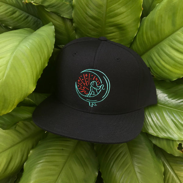 "Black ""Mahina Mermaid"" Snapback"