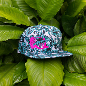 Kalo/Monstera Leaf Mermaid Snapback