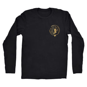 "Long Sleeve Gold ""Mahina Mermaid"" Tee"