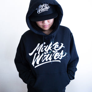 """Make Waves"" Black Hoodie"