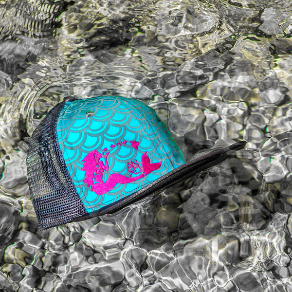 Mermaid Scales Snapback