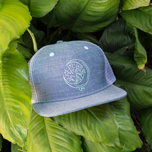 "Denim ""Mahina Mermaid"" Snapback"