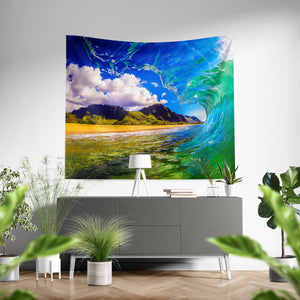 """Paradise Perfect"" Tapestry"