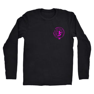 "Long Sleeve Pink ""Mahina Mermaid"" Tee"