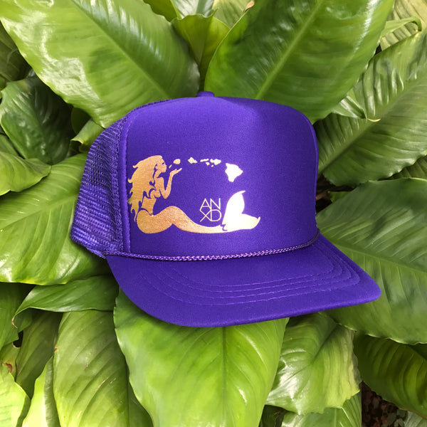 Mermaid Trucker - Purple